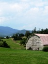 Pink Roof Barn
